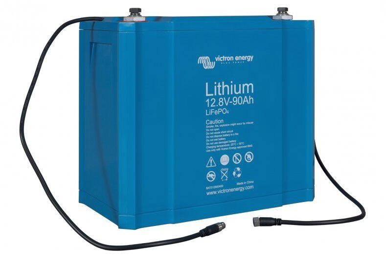 12,8 V 90 Ah LiFePO4 Battery